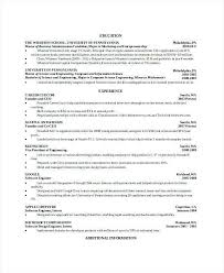 Resume Of Computer Engineer Engineering Internship Resume No Experience Luxury Computer