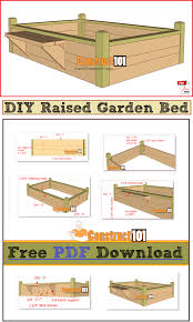 raised garden bed with bench pdf