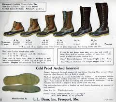 Ll Bean Size Chart Mens L L Bean Maine Hunting Shoe Often Imitated But Never