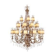 livex lighting 22 light vintage gold leaf incandescent ceiling chandelier