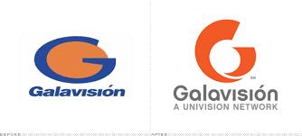 galavisión logo before and after