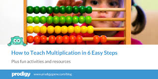 Advanced Multiplication Chart How To Teach Multiplication In 6 Easy Steps Prodigy Math Blog