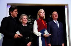 Davos elite tap Cate Blanchett, <b>Elton John</b>, Shah Rukh Khan for ...