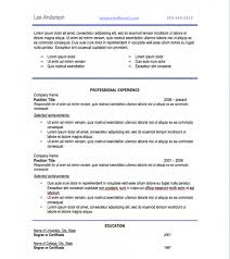 Cover Letter Resume Font Size Standard Resume Font Style And Size