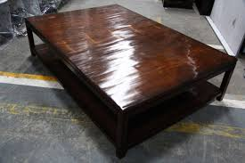 Superior Coffee Table Incredible Large Square Oak Tables Simple Dark Wood Low With St Nice Design