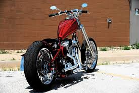 retro chopper by brass balls bobbers choppers