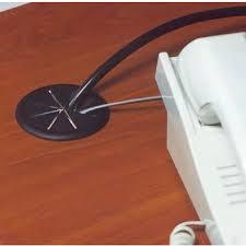 hafele flexi top cable grommet plastic black 2 3 8 hole
