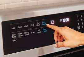 the front lg ldg4313st lg s glass touch oven controls bring a high tech contemporary look to
