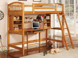 bunk bed with desk and couch. Bedroom, Kids Bunk Bed With Desk Beds Twin Over Full Pink Sheet Shag Area Rug And Couch
