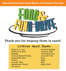 Food Drive Posters Food Drive Manual And Posters Second Harvest Food Bank Of