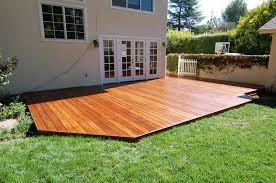 Backyard Decking Designs Awesome Build A Low Deck On The Ground Google Search Wood Deck In 48