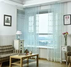 Us 1206 33 Offtürkei Stickerei Jacquard Seide Tüll Koreanische Garten Gaze Fenster Vorhänge Für Wohnzimmer Esszimmer Schlafzimmer In Türkei