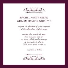 Template Of Invitation Card Wedding Invitation Card Template Free