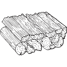 logging coloring pages firewood coloring pages