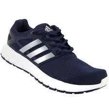 adidas running shoes men. adidas energy cloud textile running shoes - mens navy silver men k
