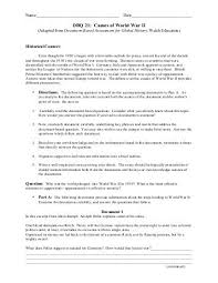 of ww essay causes of ww2 essay