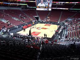 Yum Center Seating Chart Louisville Basketball Kfc Yum Center Section 120 Louisville Basketball