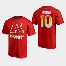 Pro - T-shirt Bowl 10 Texans Hopkins 2019 Afc Deandre Red
