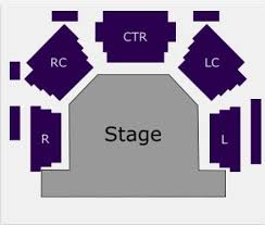 Seating Chart Cottage Theatre