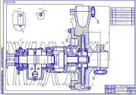 Центробежный насос консольного типа ТКН Дипломная работа  Центробежный насос консольного типа ТКН 315 125 Дипломная работа Оборудование для добычи и