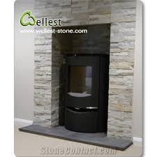 dark black brazilian riven slate fireplace hearth with slate fireplace hearth