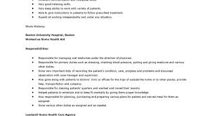 Sample Resume For Home Health Aide Home Care Aide Sample Resume Care Aide Resume 8800700083 Home