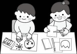 幼稚園保育園学校無料イラストお絵描きお弁当