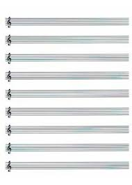 Music Paper Print Music Paper Blank Sheet Music Ps Pdf Print Download
