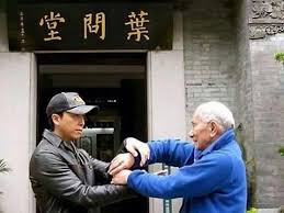 Donnie Yen With Grand Master IP Chun - YouTube