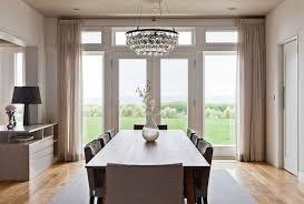 best modern crystal chandelier dining room