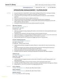 Supervisor Resume Sample Free Best Of Warehouse Manager Resume Sample Free Lovely Supervisor Examples