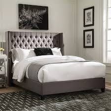 dark grey upholstered bed. Interesting Upholstered Scott Living Grey Twin Upholstered Bed Inside Dark T