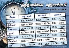 Rahu Kaal Chart Todays Rahu Kalam Timings Thereset