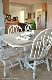 Gray kitchen table Blue Sand And Sisal How To Refinish Table Sand And Sisal