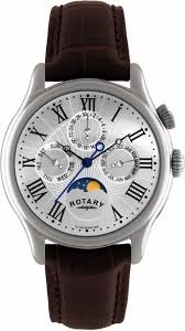 rotary mens stainless steel watch gs02838 01 rotary gs02838 01