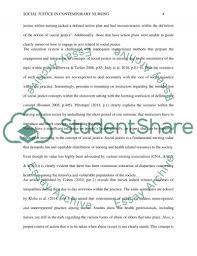 social justice in contemporary nursing essay example topics and  social justice in contemporary nursing essay example text preview