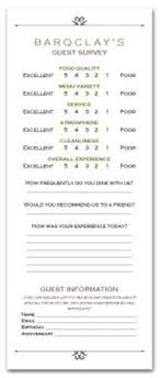 Comment Cards 10 Best Comment Cards Images Boss Garden Bar Card Templates