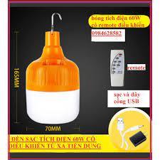 đèn sạc tích điện 60W- đèn led tích điện