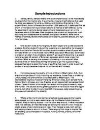 ▷ writing ninjas how to write a five paragraph essay  sample essay introductions