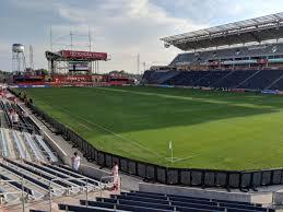 Seatgeek Stadium Section 122 Rateyourseats Com