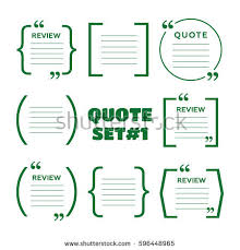 Brackets In Quotes Beauteous Quotes Brackets Speech Bubbles Short Quotes Stock Vector Royalty