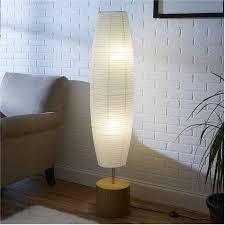 Paper Shade Floor Lamp Custom Mainstays Rice Paper Shade Floor Lamp Bamboo Finish W [60