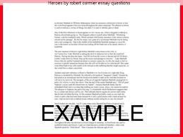heroes by robert cormier essay questions homework service heroes by robert cormier essay questions robert cormier heroes essays uk essay writers online xfinity