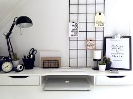 ikea office inspiration. Perfect Inspiration Minimalist Black And White Workspace IKEA Alex Desk Inspiration On Ikea Office Inspiration C