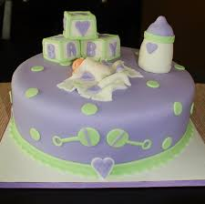Photo Baby Shower Ideas For Cakes Image