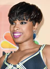 jennifer hudson with a short black edgy party hairstyle pictures