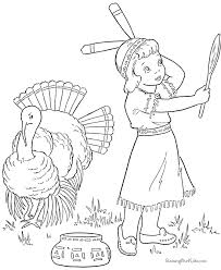 Small Picture Thanksgiving Turkey Coloring Pages Coloring Coloring Pages