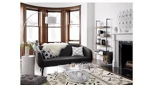 peekaboo acrylic coffee table bedroom furniture cb2 peg