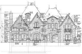 floor plans english manor vanbrouck associates country home 5369506