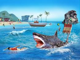 angry shark d simulator game android apps on google play angry shark 3d simulator game screenshot